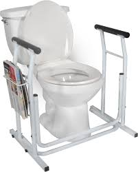 Handicap Toilet Chair With Wheels by Drive Free Standing Toilet Safety Rails Toilet Safety Rails