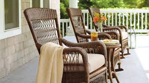 Chair : Porch Rocking Chairs Black White Patio Rocker All Weather ...