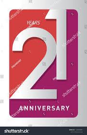 100 Design 21 Years Old Celebrating Modern Logo