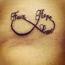 Hd Faith Hope Love 3d Abstract Tattoos Ideas