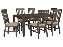 Signature Design By Ashley Dresbar 7-Piece Rectangular Dining Table ... Amazoncom Ashley Fniture Signature Design Mallenton East West Avat7blkw 7piece Ding Table Set Hanover Monaco 7 Pc Two Swivel Chairs Four Garden Oasis Harrison Pc Textured Glasstop Small Kitchen And Strikingly Ideas Costway Patio Piece Steel Belham Living Bella All Weather Wicker Athens Reviews Joss Main 7pc Outdoor I Buy Now Free Shipping Winchester And Slatback Ruby Kidkraft Heart Kids Chair Wayfair