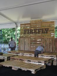 FIREFLY Pallet Seating on VIP Loft
