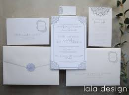 Wedding Invitations Lala Design