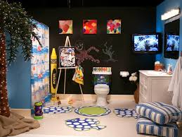 Finding Nemo Bathroom Theme by Ultimate Kids U0027 Bathroom Hgtv