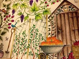 Secret Garden Folha Dupla Abobora Johanna Basford PicturesSecret GardensColoring BooksAdult