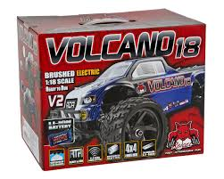 Redcat Volcano-18 V2 1/18 4WD Electric Monster Truck [RERVOLCANO-18 ... Redcat Racing Volcano Epx Volcanoep94111rb24 Rc Car Truck Pro 110 Scale Brushless Electric With 24ghz Portfolio Theory11 Rtr 4wd Monster Rd Truggy Big Size 112 Off Road Products Volcano Scale Electric Monster Truck Race Silver The Sealed Bearing Kit Redcat Lego City Explorers Exploration 60121 1500