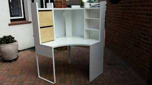 Micke Corner Desk Ikea Uk by Ikea Micke Workstation Add On Unit Shelving Brown Posot Class