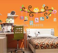 Owl Bedroom Wall Stickers by Aliexpress Com Buy People Favorite Mascot Owl Picture Frame