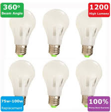 discount deals six brand led light bulbs 100 watt for home