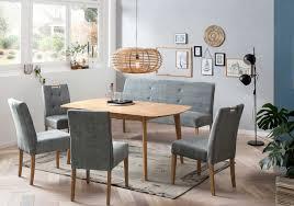 standard furniture arles massivholztisch ausziehbar esstisch