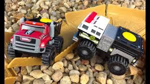 100 Stomper Toy Trucks Tonka Climbovers Fire Heavy Haule Mighty Machines Or