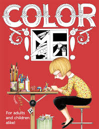 Mary Engelbreit COLOR ME Coloring Book For Adults And Children Alike