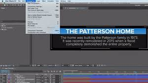 Working With After Effects Text Templates Inside Premiere Pro Step Two