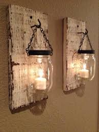 20 Recycled Pallet Wall Art Ideas For Enhancing Your Interior Mason Jar