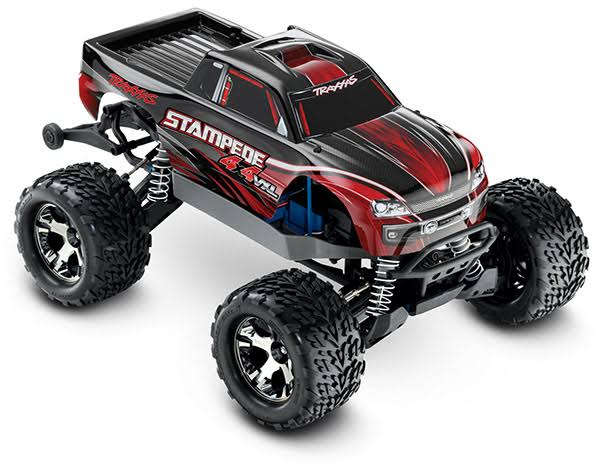 Traxxas 67086-4 Stampede 4X4 VXL Brushless RTR Truck - Red