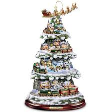 White Pre Lit Christmas Tree With Colored Lights Awesome New White