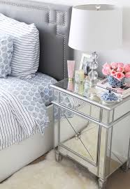 Hayworth Mirrored 3 Drawer Dresser by Bedroom Pretty Small Artistica Bedroom Hayworth Nightstand