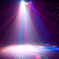 American DJ Boom Box FX2 4 FX IN 1 Lighting Fixture