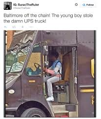 UPS Truck Stolen During Baltimore Riot | BrownCafe - UPSers Talking ...