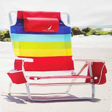 nautica rainbow beach chair
