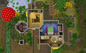 Sims 3 Big House Floor Plans by Mod The Sims Happy Mushroom Fairy Cottage