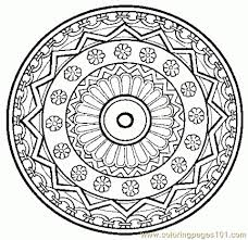Get This Online Mandala Coloring Pages For Adults 37425 Throughout