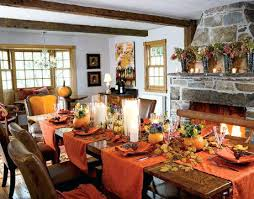 Fall Dining Room Table Decorating Ideas Thanksgiving And