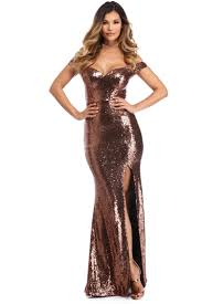 evanna copper evening dress windsor f c prom and red carpet ready