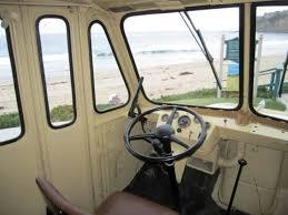 Inside Morris Ice Cream Van