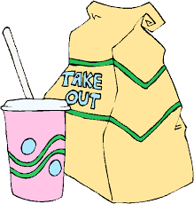take out food clipart