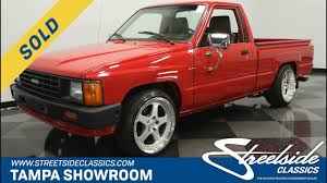 1985 Toyota Pickup SOLD | Streetside Classics - YouTube For Sale 1985 Toyota 4x4 Pickup Truck Solid Axle Efi 22re 4wd Presented As Lot W174 At Indianapolis In Pickup With 22000 Original Miles Nice Price Or Crack Pipe 25kmile 4wd 6000 Was The 4runner Best Suv Of 80s Awesome Toyota 2wd Manual 5speed Potrait Hard Trim Heres Exactly What It Cost To Buy And Repair An Old Fs Norrock 22re Solid Axle Yotatech Forums Classic Car Longview Wa 98632 Truck 44 Lifted X Fresh Paint