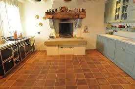 terracotta floors mediterranean kitchen san francisco by