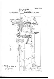 Margaret Knight Paper Bag Machine Patent Image Google