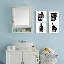 gronda schwarz weiße badezimmer dekoration lustige wandkunst handwäsche leinwanddruck mit zitaten heimdekoration bilder für wc schlafzimmer