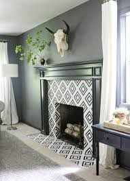 how to get the look of graphic cement tile for much less jones