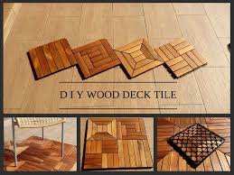 diy wood deck tile may 21 2015 puchong selangor malaysia