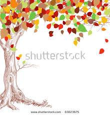 Autumn Tree Clip Art 25