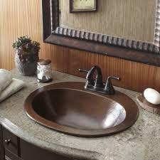 Kohler Overmount Bathroom Sinks by Bathrooms Design Inspiring Gorgeous Rectangle Drop In Bathroom