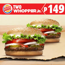 2 Burger King Whopper Jr. For Php149!   Manila On Sale Burger King Has A 1 Crispy Chicken Sandwich Coupon Through King Coupon November 2018 Ems Traing Institute Save Up To 630 With All New Bk Coupons Till 2017 Promo Hhn Free Burger King Whopper Is Doing Buy One Get Free On Whoppers From Today Craving Combo Meal Voucher Brings Back Of The Day Offer Where Burger Discounted Sets In Singapore Klook Coupons Canada Wix Codes December