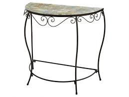 Half Circle Outdoor Furniture by Popular Of Half Circle Accent Table Half Round Accent Table Tables