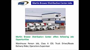 Martin Brower Distribution Center Jobs - YouTube Simple But Serious Mistake In Making Cdl Driver Resume Drivejbhuntcom Company And Ipdent Contractor Job Search At Indiana Jobs Local Truck Driving In Cover Letter Truck Driving Job Description Otr Pepsi Jobs Find Class A Hazmat Tanker Dorsements Reqd With Traing And The Truth About Drivers Salary Or How Much Can You Make Per Cover Letter Employment Videos Halliburton Chic For Delivery In Light Duty Centerline