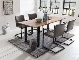esszimmer essgruppe 5 tlg dunkelbraun schwarz günstig möbel küchen büromöbel kaufen froschkönig24