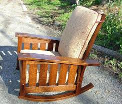 Stickley Furniture Leather Recliner by Stickley Morris Chair Recliner Chair Flat Arm Reclining Chair