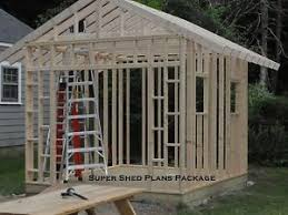 custom design shed plans 6x8 gable storage diy instructions and