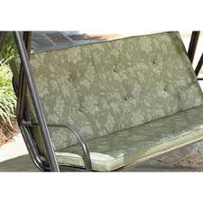 Kmart Porch Swing Cushions by Jaclyn Smith Cora 3 Person Cushion Swing Green Limited