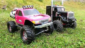 99 Youtube Truck VERY Pregnant JEM 4x4s For YouTube PiNKY OVERKiLL Scale RC