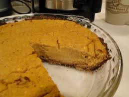 Best Pumpkin Pie With Molasses by Wheat Belly Holiday Recipes Desserts Dr William Davis