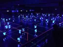Blacklight Volleyball