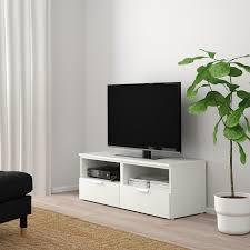 platsa tv bank mit schubladen weiß fonnes weiß 120x44x44 cm