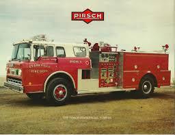 100 Pumper Trucks The Pirsch Commercial Vintage Fire Truck Sales Brochure